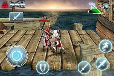 Assassin's Creed iPod Touch game from Gameloft