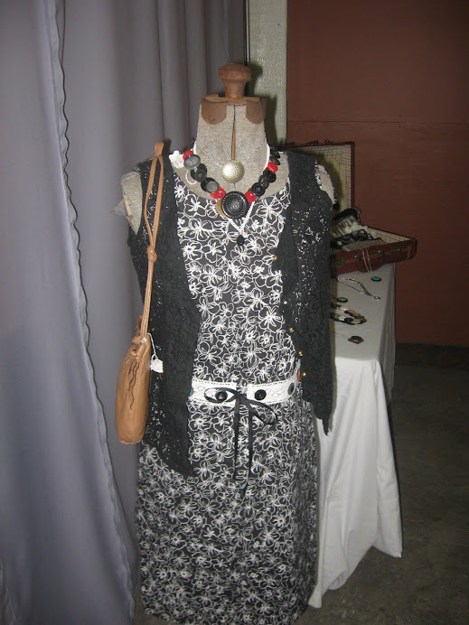 Vintage mannequin display