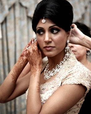 Indian Wedding Hairstyles Long Hair