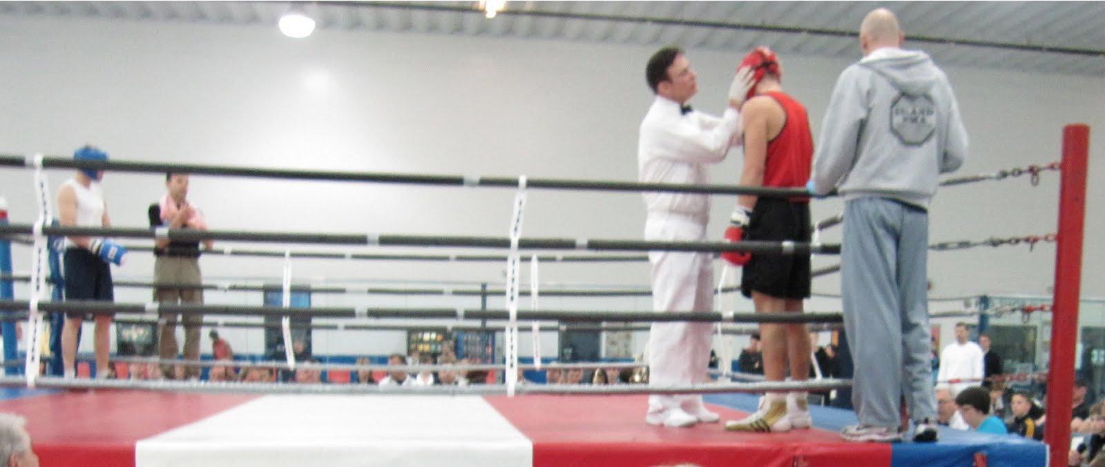 Kelowna amateur boxing not