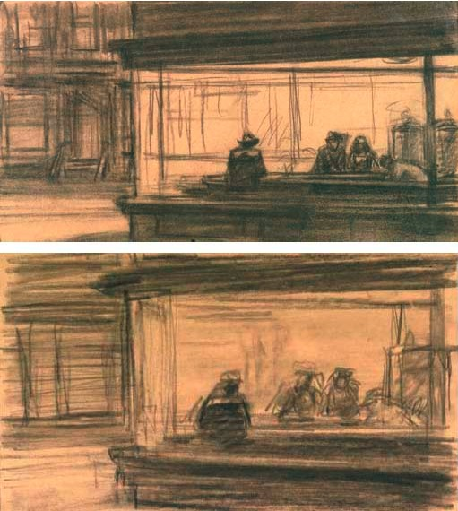edward hopper's nighthawks Nighthawks by edward hopper 1942 (120 kb) oil on canvas, 841 x 1524 cm (33 1/8 x 60 in) the art institute of chicago  introduce the document: the document is.