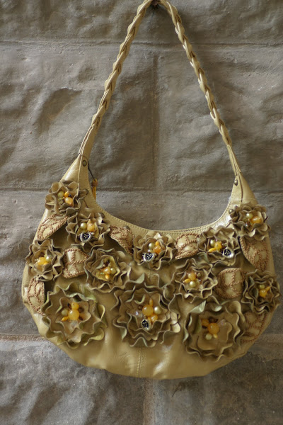 Mary Frances Marigold purse