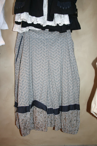 Asymetrical French Skirt to match