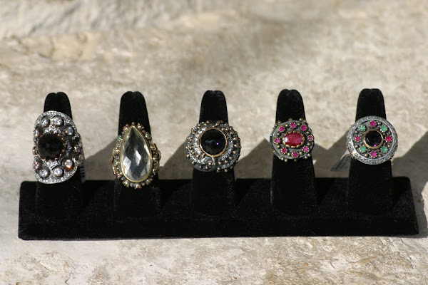 Amazing Rings from Young New York Designer