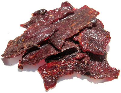 sweet and hot beef jerky