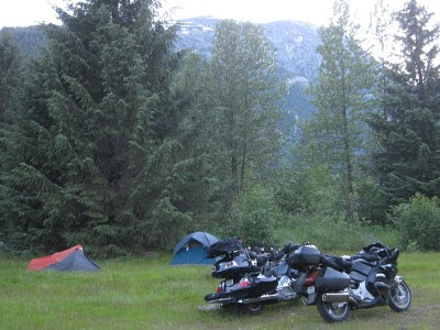 hyder alaska camping