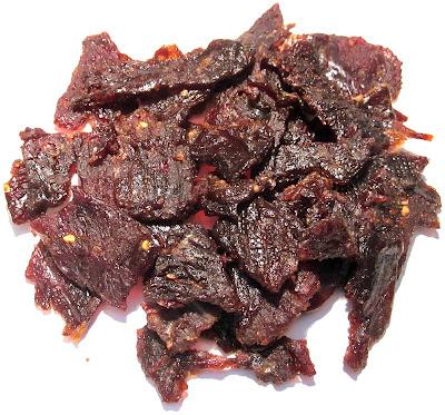sesame garlic beef jerky