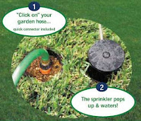 easy lawn garden water sprinkler system