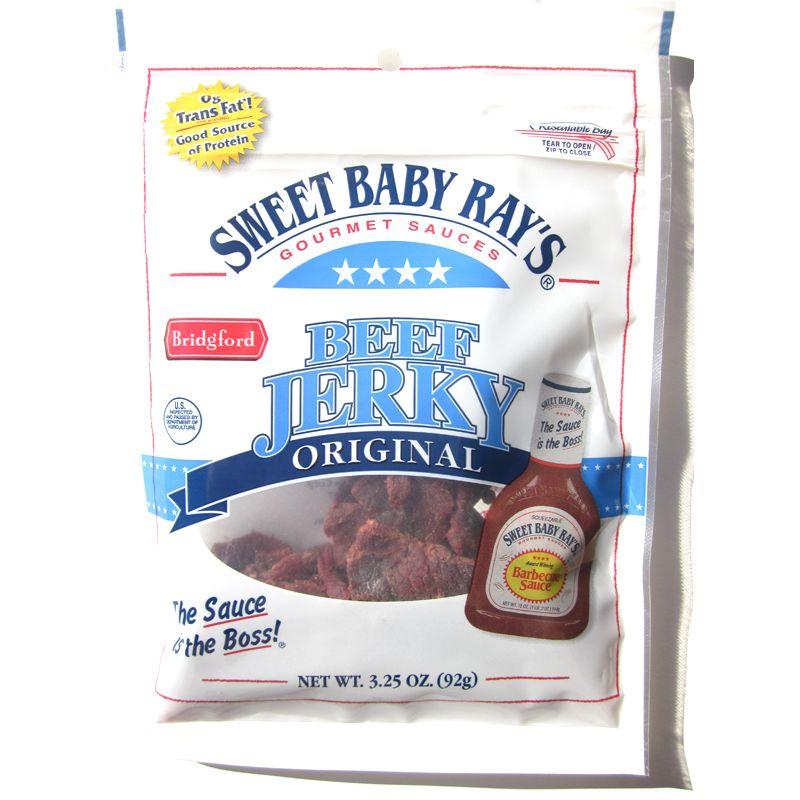 Sweet Baby Ray's Beef Jerky - Original ~ Beef Jerky Reviews Beef Jerky Brands