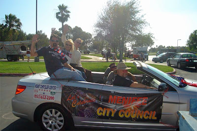 Menifee City Council Independence Day Parade