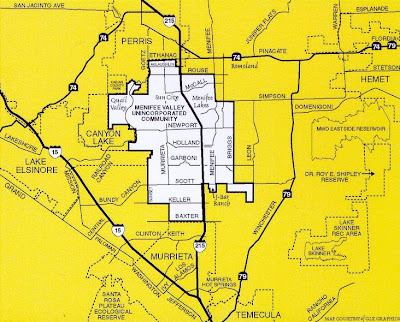 map of menifee