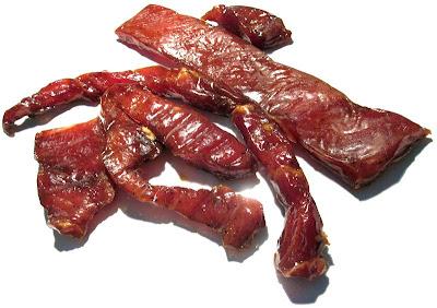 bbq pork jerky