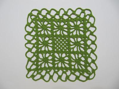 Tapete de Crochet para mesita de noche infantil