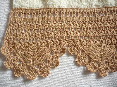 Bonitas puntillas a crochet