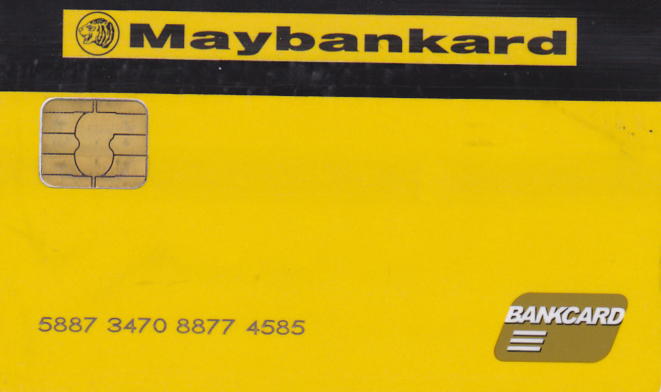 Maybank ATM CARD MAYBANK VERSI MANCHESTER UNITED