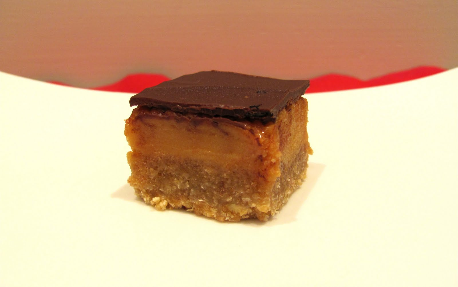 Chocolate-Caramel Slice Recipe — Dishmaps