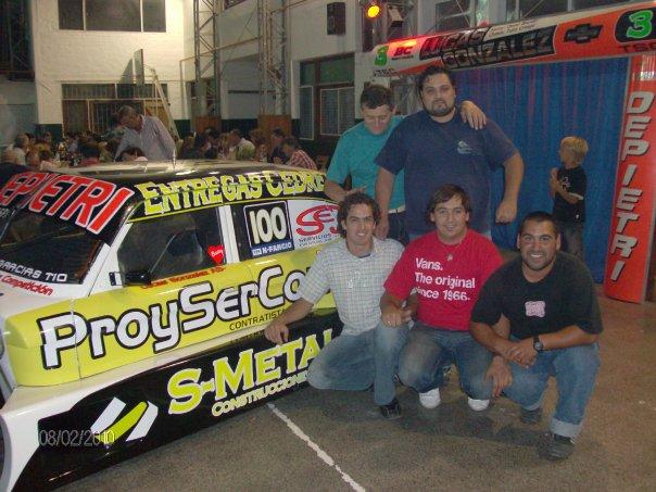 Fue presentado el Ford de TCPM de Lucas Gonzalez en Necochea