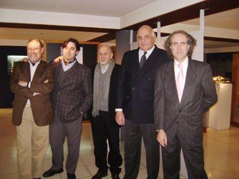 Exposición de arte en el museo fangio