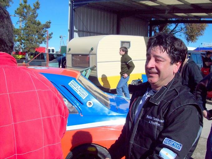 """Tambascio: """"corrí con un auto muy contundente desde la primera hasta la última vuelta """""""