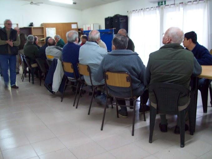 Se concretó la reunión de los socios fundadores en el CIC