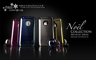 Noel Metallic Series iPhone Cases by More-Concepts