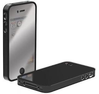 Dark Chrome Cool iPhone 4 Cases
