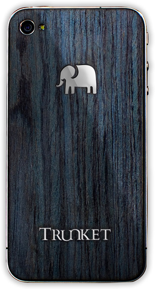 As we can see, Trunket's cool iPhone 4 covers are more like a fine layer of