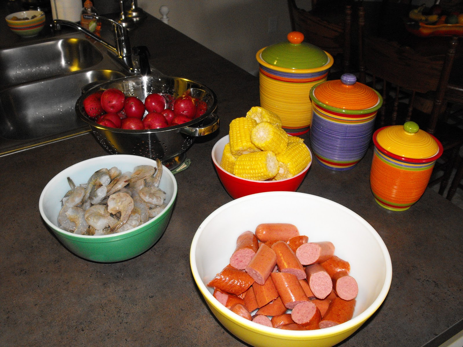 Frogmore Stew Ingredients