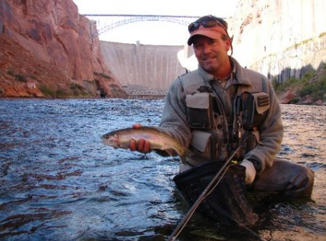 Virtual fly guides lees ferry az fly fishing report for Arizona fishing guides