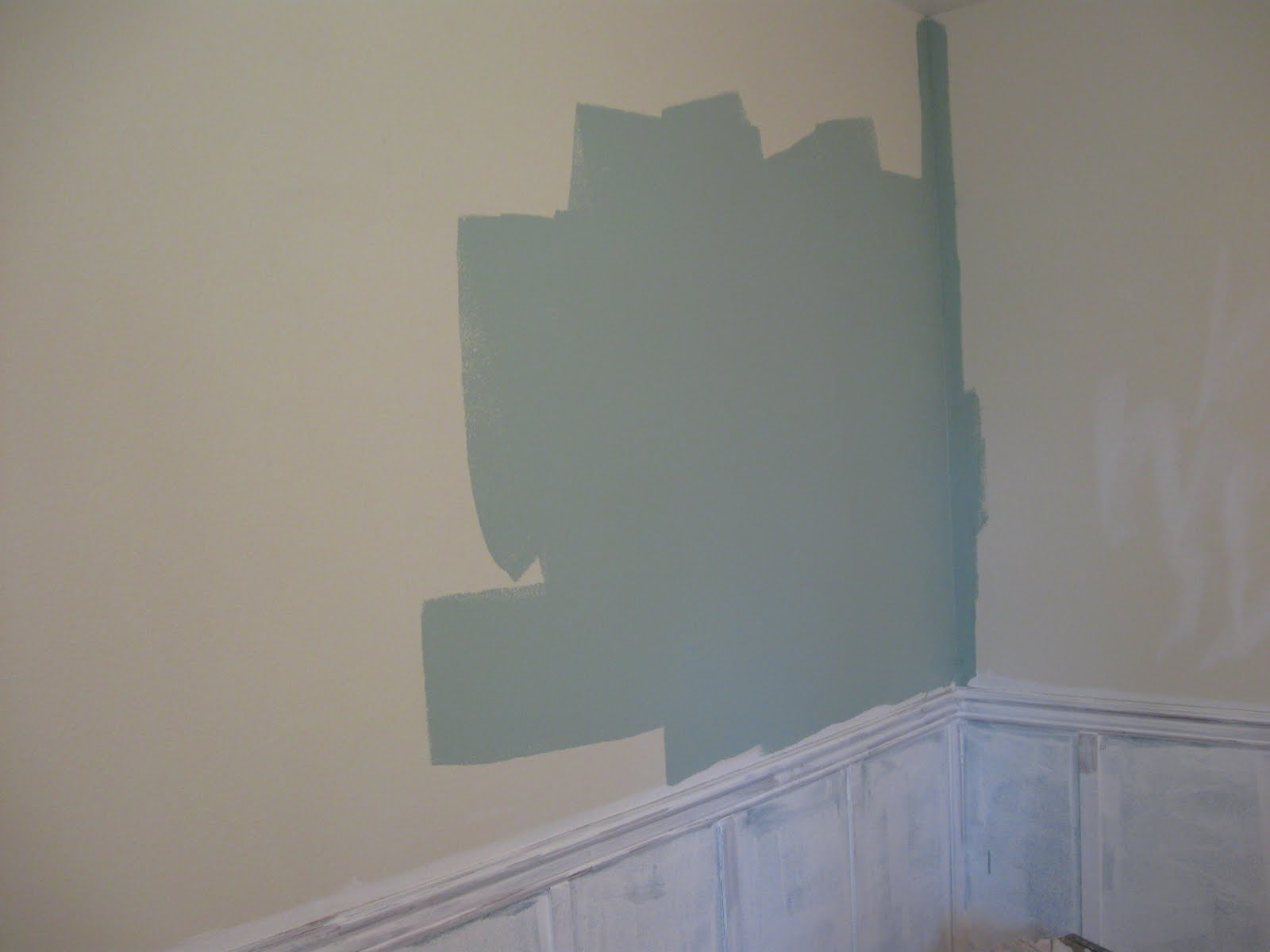 Wainscoting master bedroom - Master Bedroom Remodel With White Wainscoting Panels