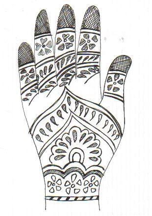 with blueberry heart Tatuaje de henna henna tatoo