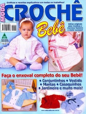 Download - Revista Crochet oara o bebê n.42