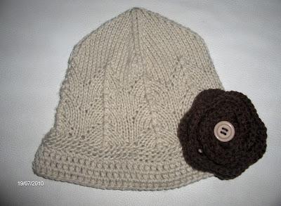Gorro Cru em Tricot e Crochet