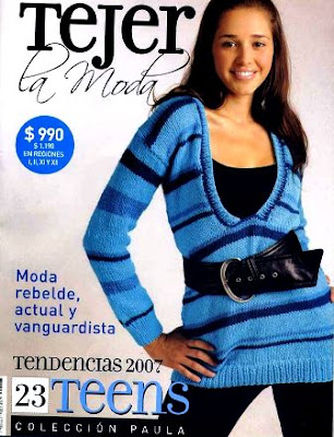 Download - Revista  Tejer La Moda n. 23