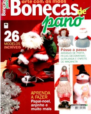 Download - Revista  Bonecos de pano - Natal n.16