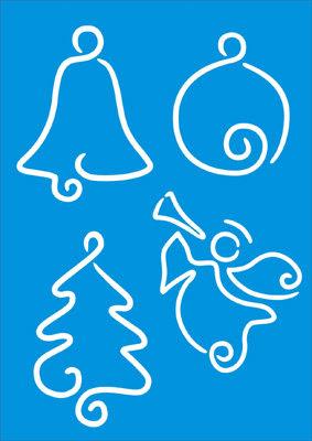 Stencil - Motivos natalinos
