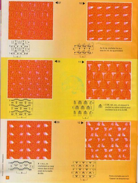 Graficos De Crochet O Ganchillo Crochet=