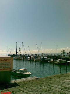 Bootshafen in Meersburg