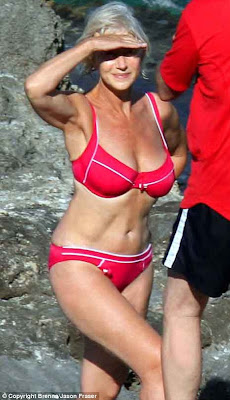 body bunch women proud 35 66 helen mirren bikini