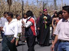 02-NOV-08 BIENVENIDA AL SR. OBISPO