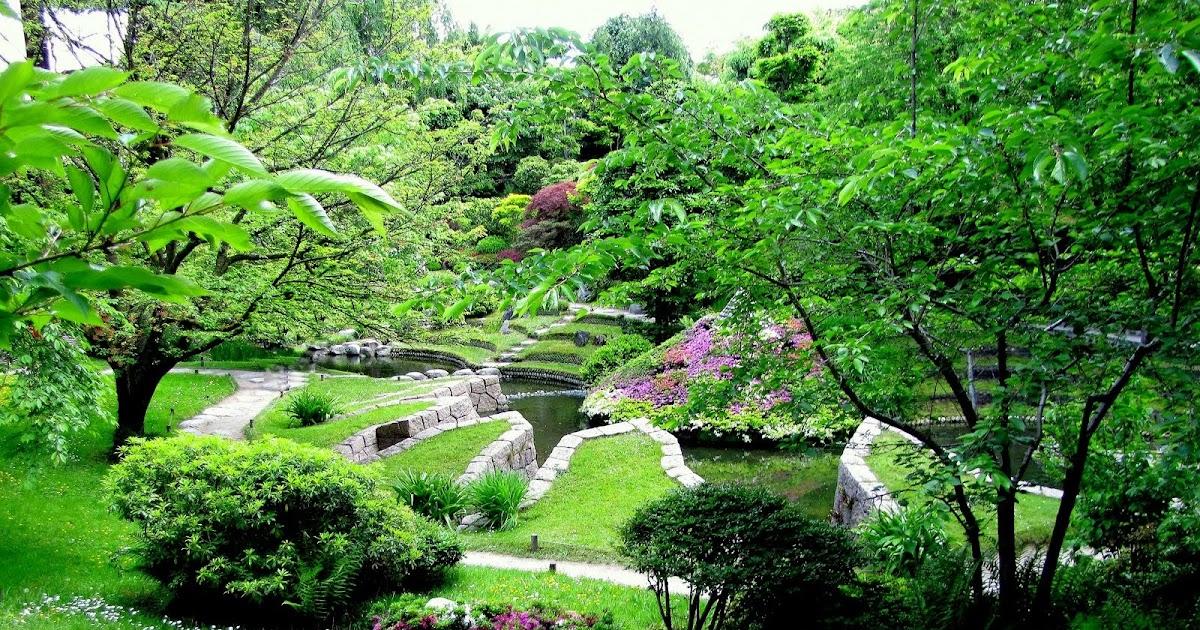 Les jardins d 39 albert kahn paysages et fleurs au fil de l 39 eau for Jardin anglais albert kahn