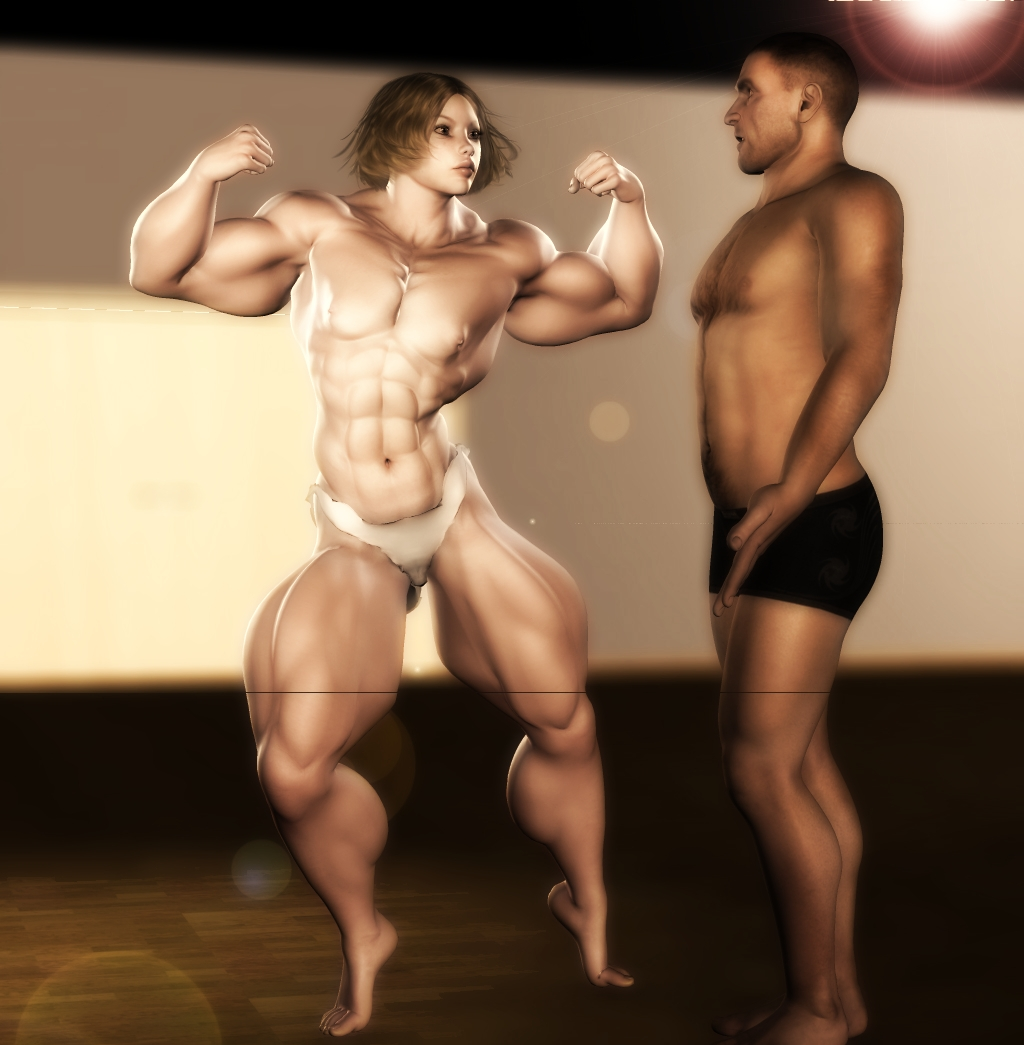 3d muscle girl xxx streaming