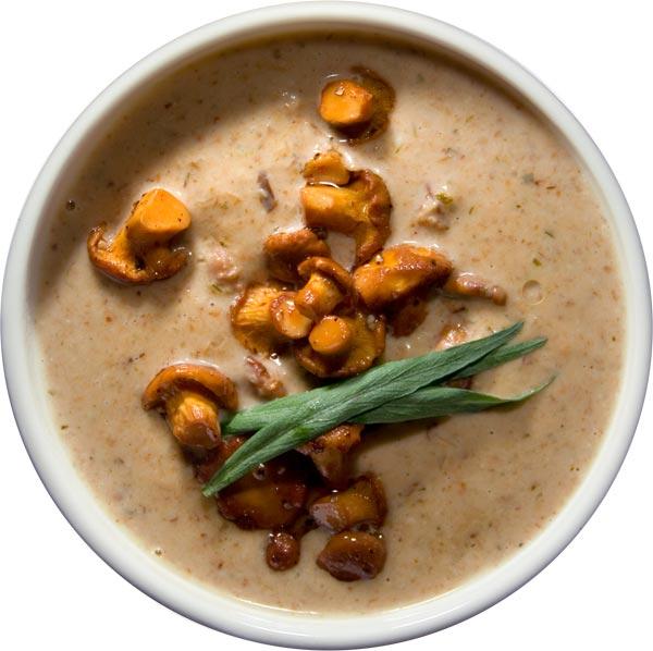 Крем-суп из лисичек (Kantarellikeitto )Финляндия