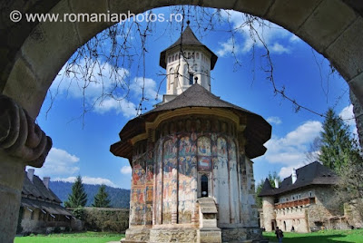 Romania Moldovita Monastery