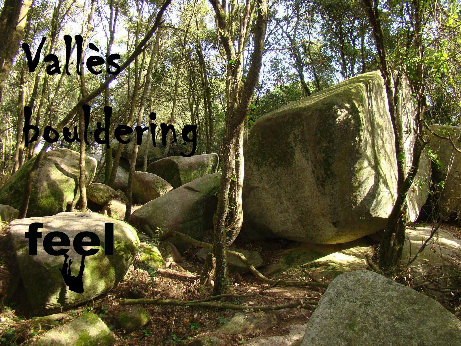 Vallès bouldering