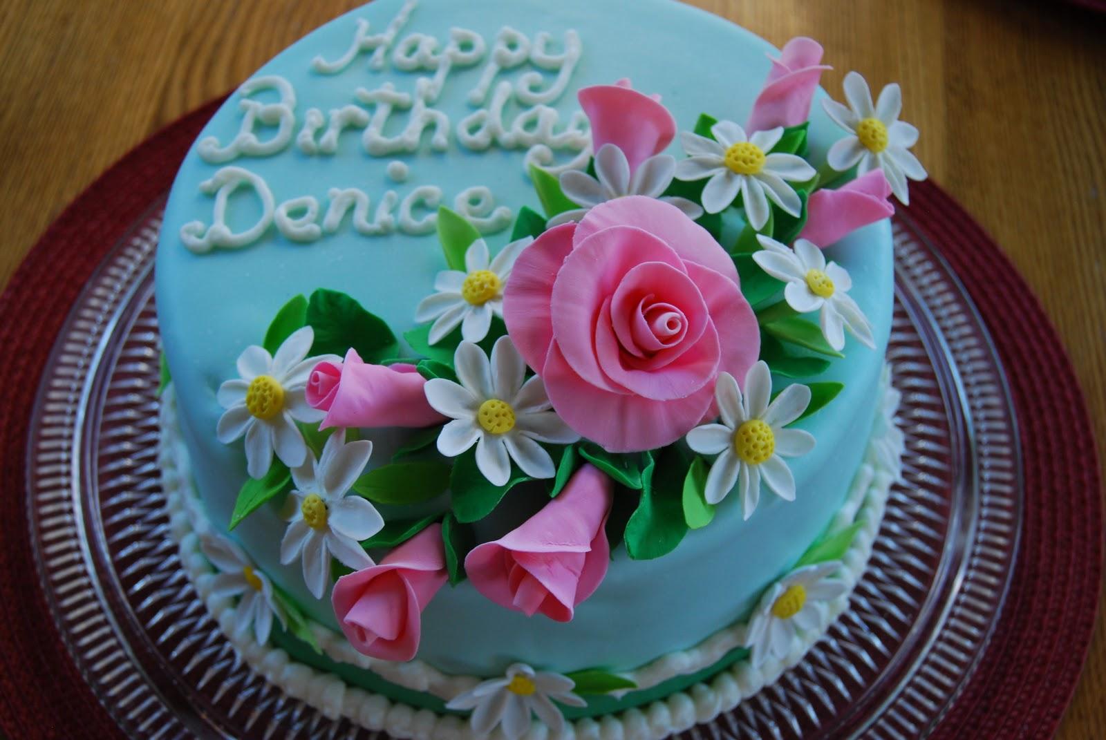 Gamma Susies This N That German Chocolate Daisy Birthday Cake