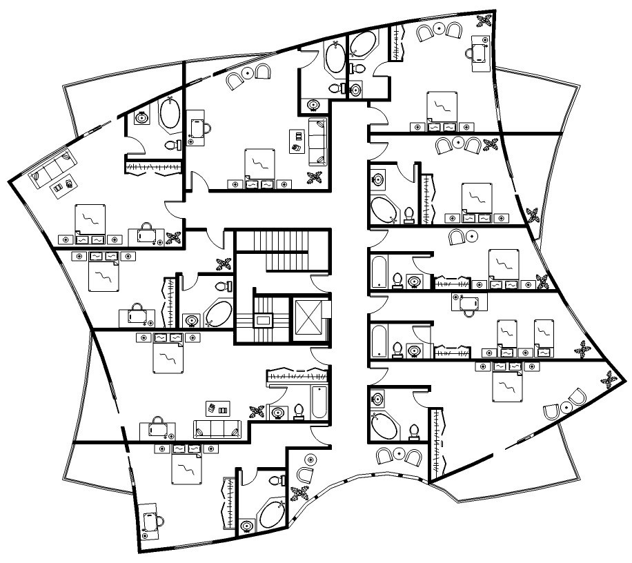Hotel design floor plans for Amazing plans com