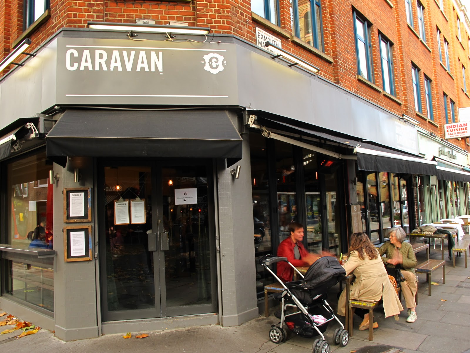 Caravan Brunch In Exmouth Market Clerkenwell Roasted