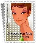 Premi: J'adore ton blog