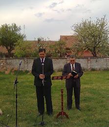 Fratele Nicu Moga si fratele Pastor Serban Ioan